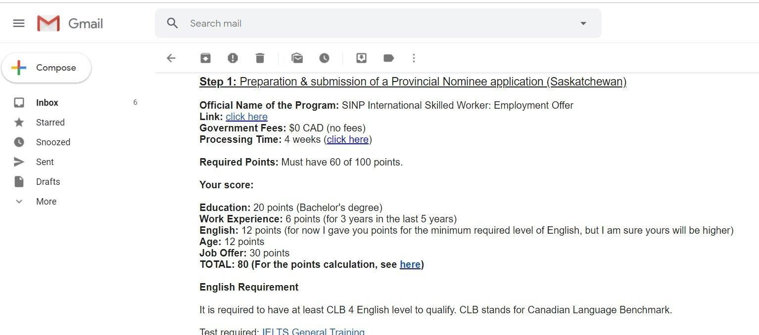 Immigration Consultant Saskatoon Email Consult