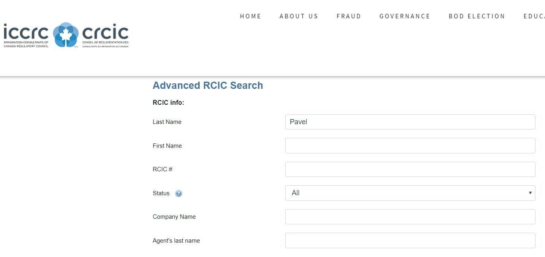 Immigration Consultant Saskatoon ICCRC Professional